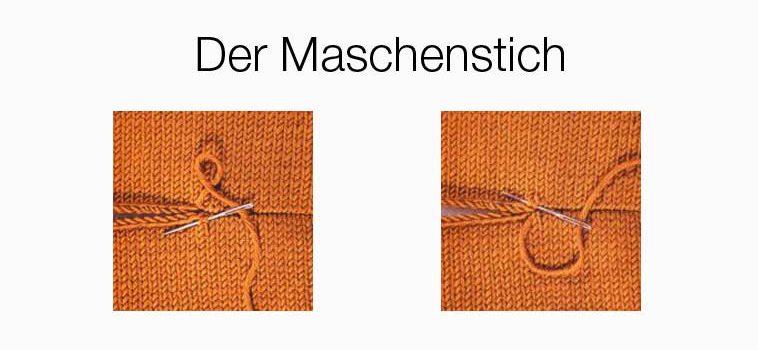 Slider-Maschenstich