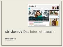 Mediadaten Stricken.de
