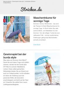 Vorschau Newsletter