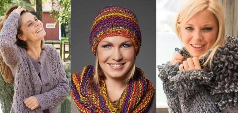 ausgewähltes Material wie man kauft New York Sarah Wiener, Miriam Gössner und Magdalena Neuner stricken ...