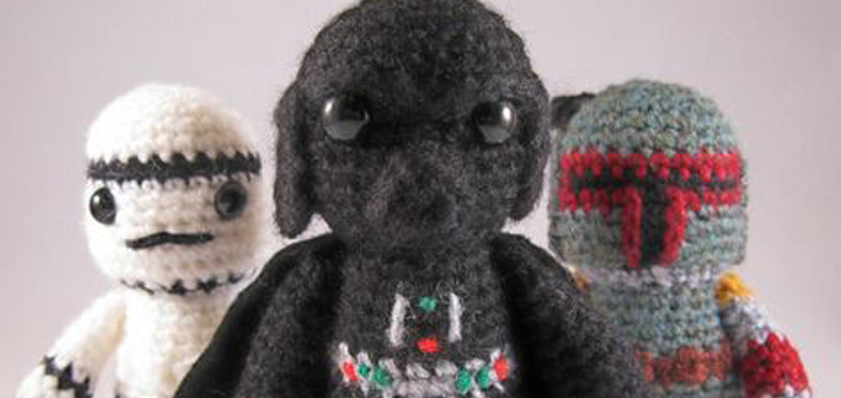Star Wars Figuren als Amigurumi - Stricken.de ...