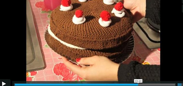 Gestrickter Kuchen Strickende Strickanleitungen Strickblogs