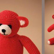 Anleitung Strick-Teddybär