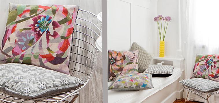 anleitung h kelkissen h kelanleitung. Black Bedroom Furniture Sets. Home Design Ideas