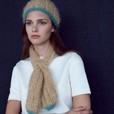 Anleitung Halsschleife und Mütze