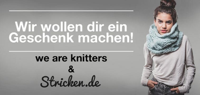 we are knitters verlosung. Black Bedroom Furniture Sets. Home Design Ideas