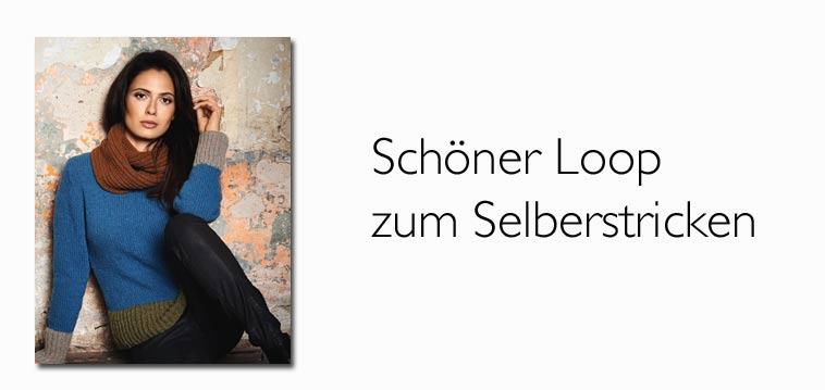 Anleitung Schöner Loopschal Im Patentmuster