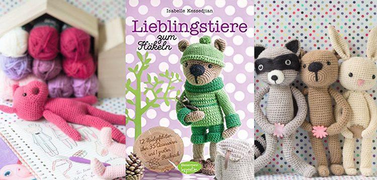 Lieblingstiere zum Häkeln - tolle Häkelfreunde für kleine Wollfans