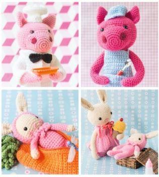 Lieblingstiere Zum Häkeln Tolle Häkelfreunde Für Kleine Wollfans