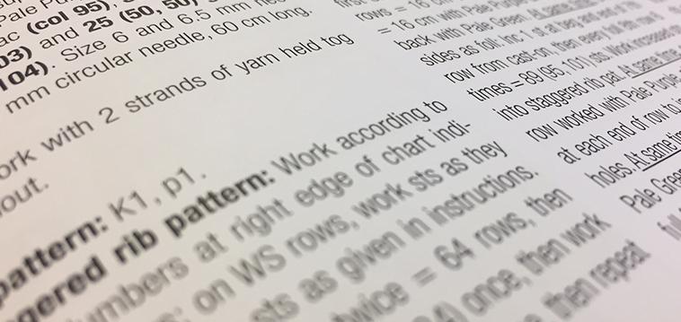 Stricktipp Anleitungen Einfach Umsetzen Auch Auf Englisch