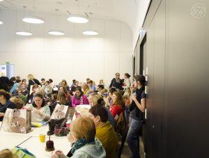 Vorstellungsrunde beim YarnCamp